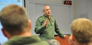 Benny Gantz mener IDF står godt rustet mot enhver trussel. (Foto: IDF)