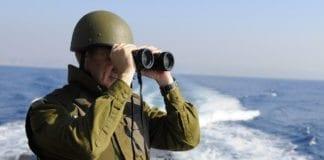 Forsvarssjef Benny Gantz under en israelsk marineøvelse i fjor. (Illustrasjon: IDF)
