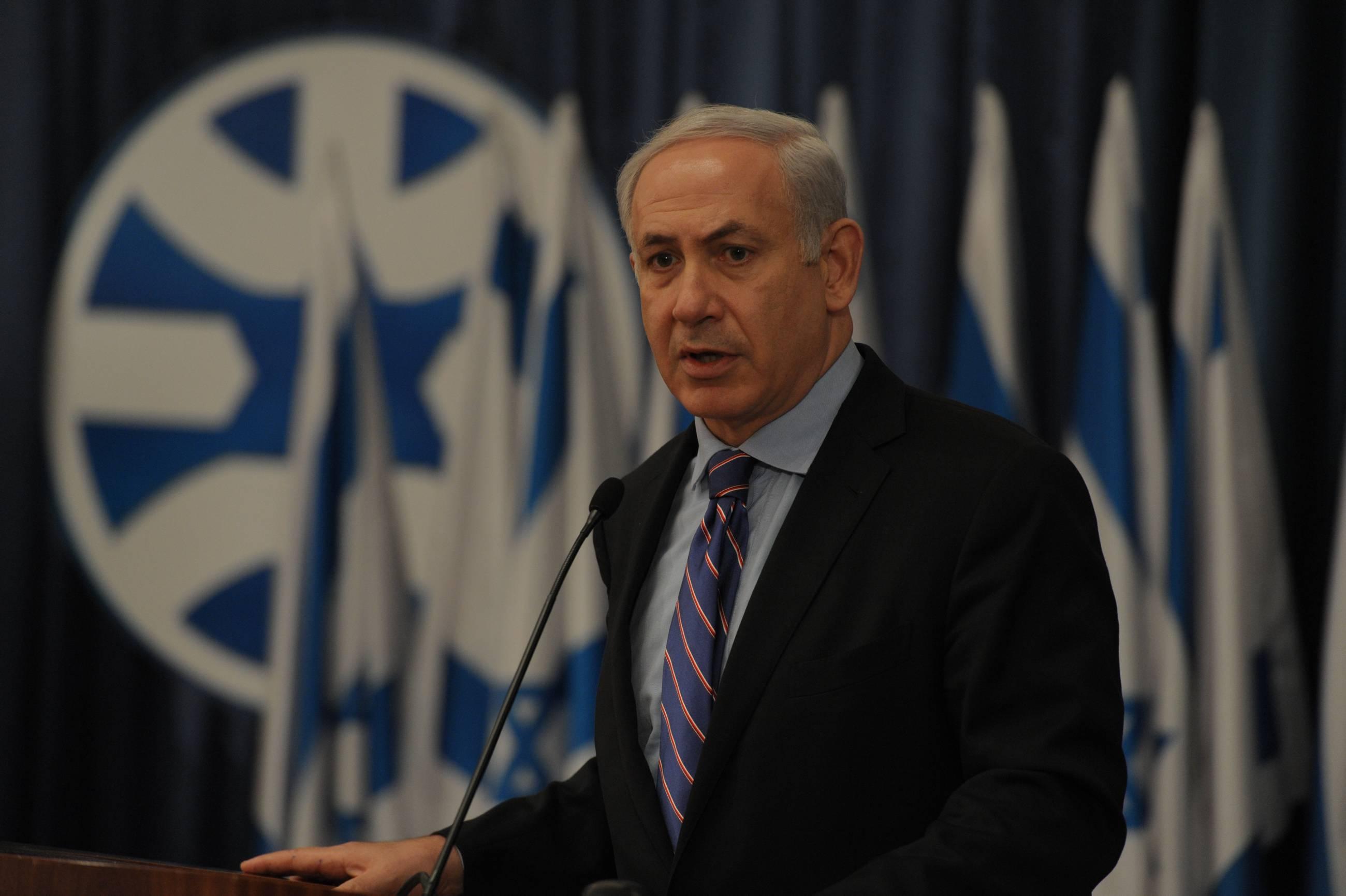 74f46628e Statsminister Benjamin Netanyahu vil presentere for PA-statsminister ...