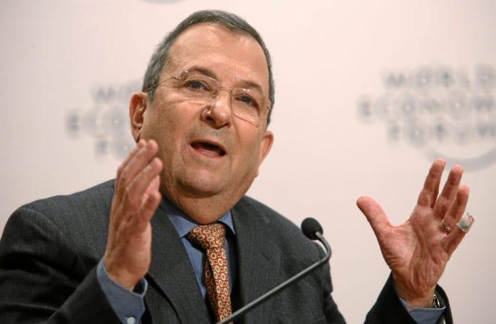 Forsvarsminister Ehud Barak (Foto: WEF)
