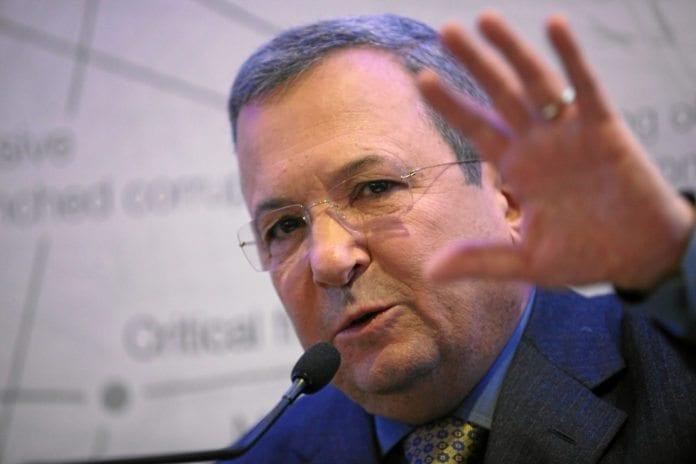 Forsvarsminister Ehud Barak. (Foto: Monika Flueckiger, swiss-image.ch)