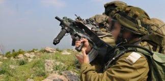 IDF-soldater på treningsoppdrag. (Illustrasjon: IDF)