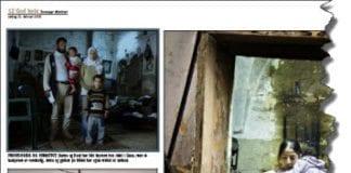 Norske medier har beskrevet Samouni-familiens skjebne i detalj. Her er faksmile fra Stavanger Aftenblad 21. februar 2009.