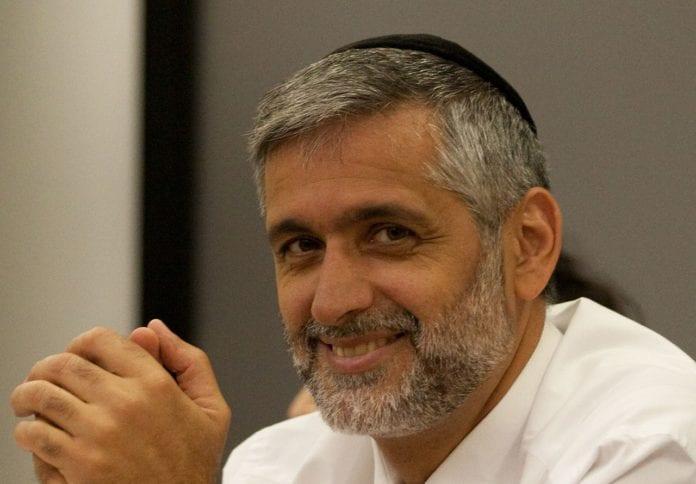 Shas-leder Eli Yishai. (Foto: Wikipedia)