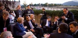 Fra G8-møtet i Italia i 2009. (Foto: Wikipedia)