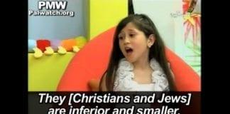Nok et barneprogram på palestinsk fjernsyn lærer barna opp i hat og antisemittisme. (Foto: Skjermdump fra Youtube.com)