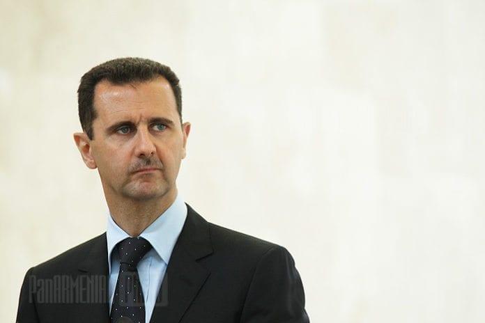 Syrias president Bashar Assad (Foto: Davit Hakobyan, PanARMENIAN Photo)