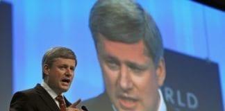 Canadas statsminister Stephen Harper ønsker å bidra ytterligere i fredsprosessen mellom Israel og palestinerne. (Foto: Remy Steinegger, swiss-image.ch)
