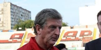 Englands landslagssjef Roy Hodgson. (Foto: Alexandra Savicheva)