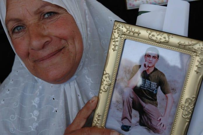Mor til palestinske mann som sitter i israelsk fengsel under