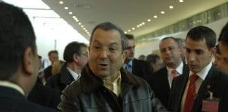Forsvarsminister Ehud Barak. (Foto: Sosialistpartiet, Frankrike)