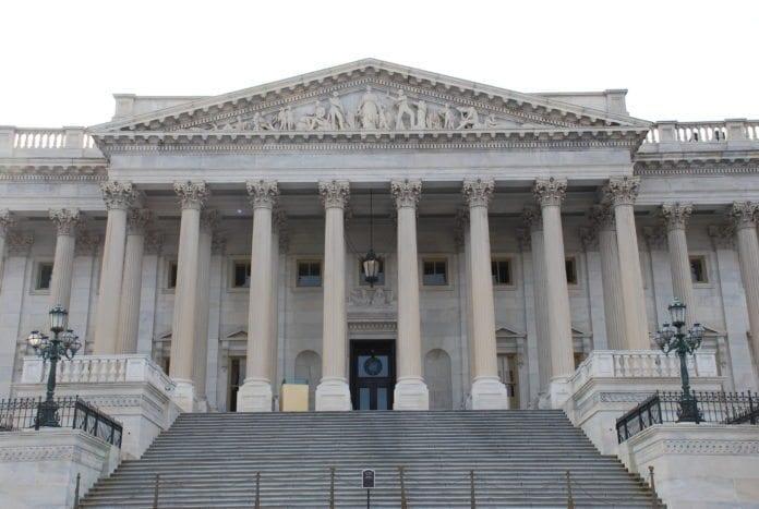 Senat-bygningen i Washington D.C., USA. (Foto: Adam Fagen)