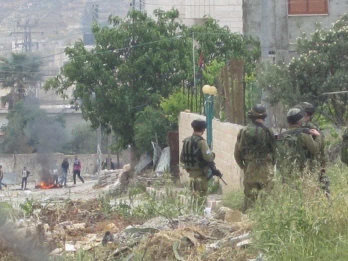 Fra markeringen av Nakba-dagen i Arroub i 2011. (Foto: Palestine Solidarity Project)