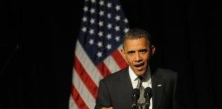 Barack Obama får kritikk fra Polen etter en Polen-uttalelse vedrørende Holocaust. (Foto: Austen Hufford, The Daily)