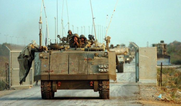 Israelske styrker forlater Gaza i september 2005. (Illustrasjonsfoto: IDF)
