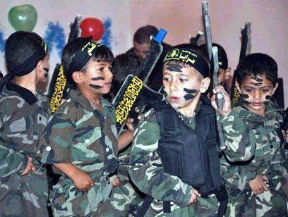 Barna sier de vil kjempe til de gir sitt liv i kampen mot Israel.