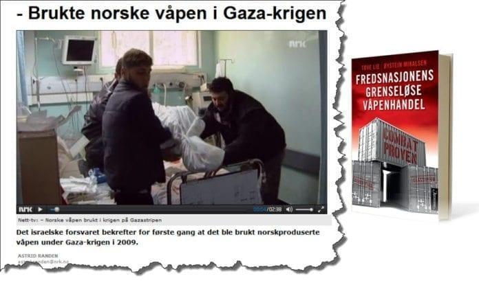 Skjermdump av artikkel på nrk.no og forsiden til boken