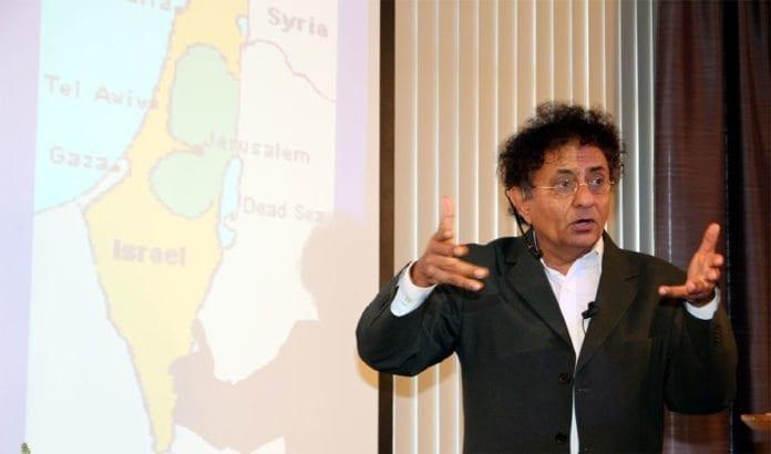 Ben-Dror Yemini holdt to foredrag på Israel-konferansen. (Foto: Conrad Myrland, MIFF)