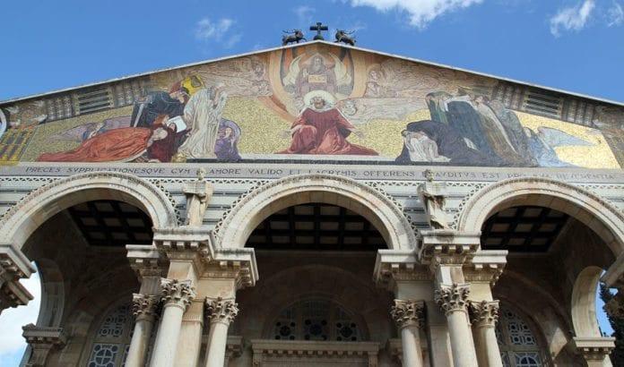 Alle nasjoners kirke i Getsemane. (Illustrasjonsfoto: Conrad Myrland, MIFF)