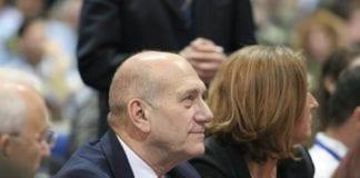 Ehud Olmert sammen med tidligere Kadima-leder Tzipi Livni. (Foto: Kadima)