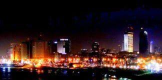 Tel Aviv om natten. (Illustrasjonsfoto: Michael Summers, flickr.com)
