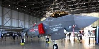 Lockheed Martins jagerfly F-35. (Foto: Rennett Stowe)