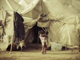 Syriske flyktningebarn i en tyrkisk leir. (Foto: Syria Freedom House)