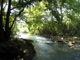 Dersom Libanon har samme mål som de har hatt tidligere i historien, kan dette stykket av Hatzbani-elven i Nord-Israel snart være uttørket. (Foto: flickr.com)