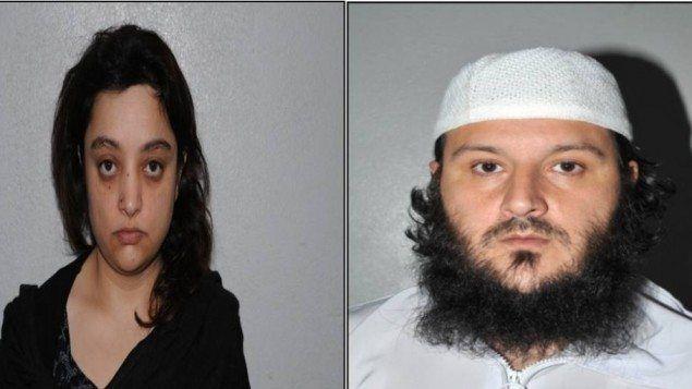 Det britiske terrorekteparet Shasta Khan (f.v.) og Muhammed Sajid Khan. (Foto: Politiet i Greater Manchester)