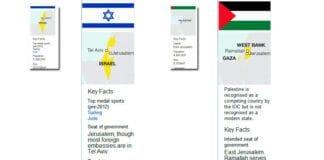 De små bildene viser presentasjonen som BBC hadde på sin nettside onsdag 18. juli, og de store hvordan presentasjonen var endret torsdag 19. juli.