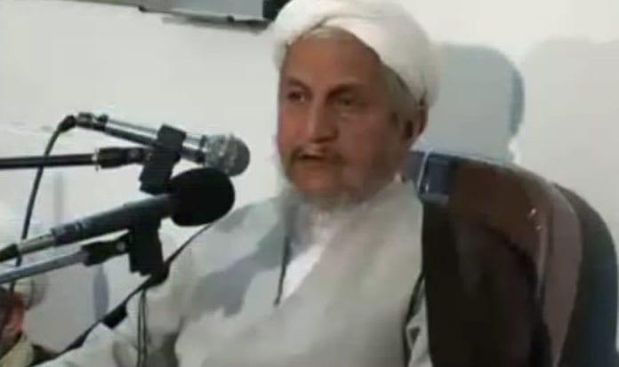 Yousef Sanei. (Foto: Skjermdump fra tv-sending)