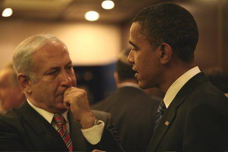 Israels statsminister Benjamin Netanyahu (t.v.) i samtale med USAs president Barack Obama. (Foto: flickr.com)