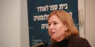 Tzipi Livni har fått sin første jobb etter å ha trukket seg fra Knesset. (Foto: Itzik Edri)