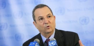 Israels forsvarsminister Ehud Barak (Foto: UN Photo)
