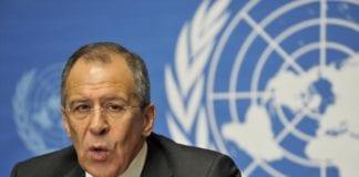 Russlands utenriksminister Sergei Lavrov (Foto: FNs Geneve-kontor)