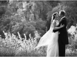 Nygift jødisk ektepar. (Illustrasjon: Claire Morgan)
