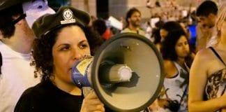 Fra en demonstrasjon i Tel Aviv. Demonstrasjonen var ikke relatert til et eventuelt forhåndsangrep mot Iran. (Illustrasjonsfoto: Qafziel, flickr.com)