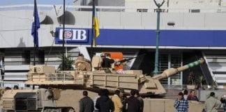 Egyptisk M1 Abrams stridsvogn. (Foto: Wikimedia Commons)