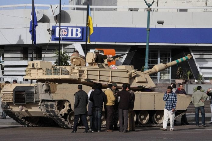 Egyptisk M1 Abrams stridsvogn. (Foto: Wikimedia Commons)