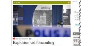 Skjermdump fra sydsvenskan.se.