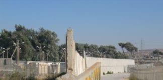 Murene rundt et israelsk fengsel. (Illustrasjon: flickr.com)