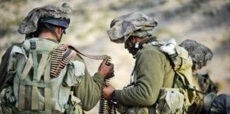 Soldater fra hærens granittbataljon. (Illustrasjon: IDF)