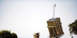 Det israelske Iron Dome-batteriet. (Illustrasjon: IDF)