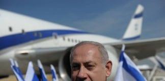 Benjamin Netanyahu sa at han føler støtten fra Israel i ryggen, rett før han satte seg på flyet til New York onsdag kveld. (Foto: GPO)