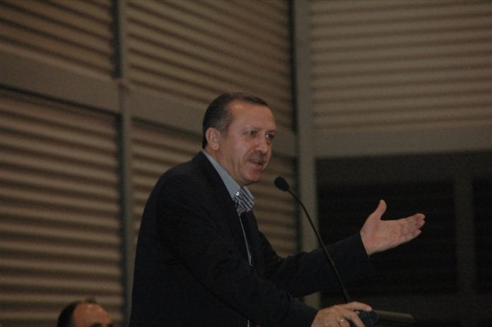 Tyrkias statsminister Recep Tayyip Erdogan. (Foto: Serdar Kilic)