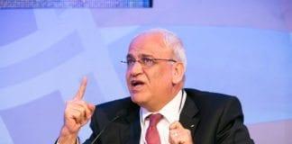 Den palestinske sjefsforhandleren Saeb Erekat. (Foto: U.S.-Islamic World Forum)