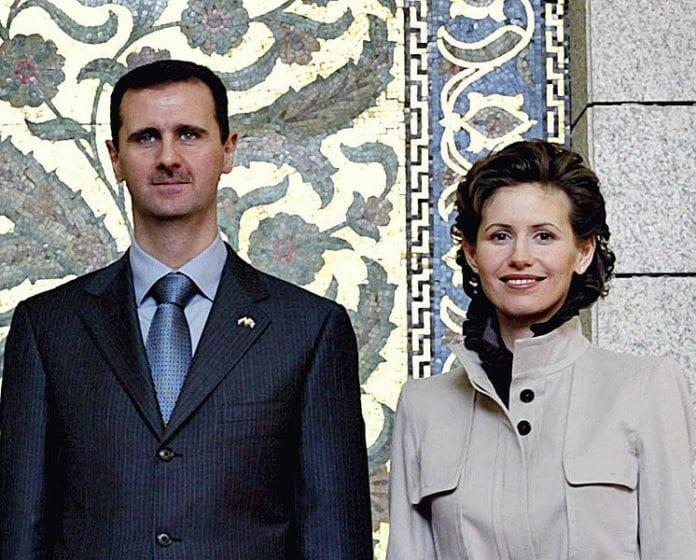 Syria-president Bashar Assad sammen med sin kone Asma. (Illustrasjon: Wikipedia)