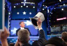 President Barack Obama sa torsdag kveld ja til å bli Demokratenes kandidat ved presidentvalget 6. november. (Foto: NewsHour)