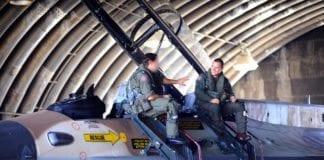 Israelske jagerflypiloter under en øvelse ved flybasen Nevitim. IDF beskytter identiteten til sine best trente flygere, for å unngå at de blir utsatt for angrep. (Illustrasjonsfoto: Ori Shifrin, IDF)