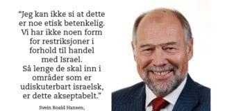 Svein Roald Hansen er stortingsrepresentant fra Østfold og sitter i Utenriks- og forsvarskomiteen.